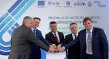 With 'Radovish' WTE hands over the third waste water treatment plant in Macedonia